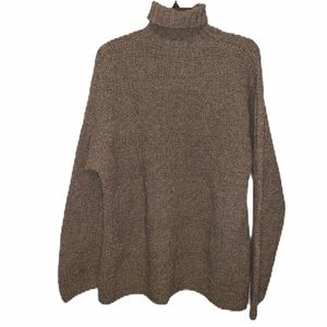 Banana republic wool/silk oatmeal  turtleneck